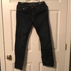 American Eagle Dark Wash Original Straight Jeans